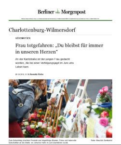 Berliner Morgepost 09.10.2018